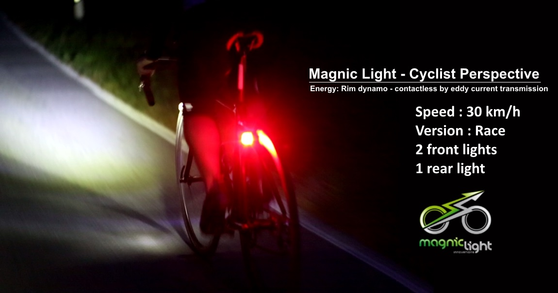Magnic Light Cyclist View