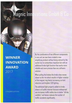 Eurocyling XP : Innovation of the Year 2017