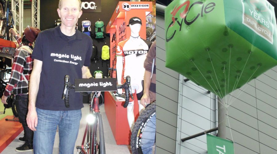 Taipei Cycle trade show